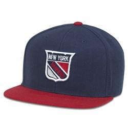 New York Rangers - Mens Replica Wool Adj Snapback Hat