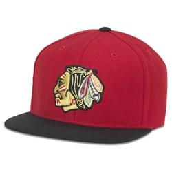 Chicago Blackhawks - Mens Replica Wool Adj Snapback Hat