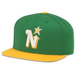 Minnesota North Stars - Mens Replica Wool Adj Snapback Hat