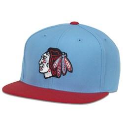 Chicago Blackhawks - Mens Replica Wool Adj. Snapback Hat