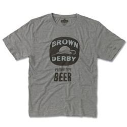 Brown Derby Beer - Mens Rj Beer Gphx T-Shirt