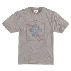 Pabst Blue Ribbon - Mens Vintage Fade Crew T-Shirt