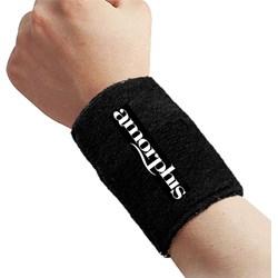 Amorphis - Unisex-Adult Logo Wristband