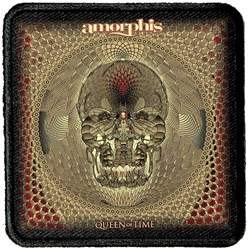 Amorphis - Unisex-Adult Queen Of Time Patch