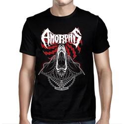 Amorphis - Mens Bear Black T-Shirt