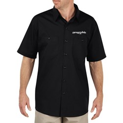 Amorphis - Mens Queen Of Time Black Work Shirt