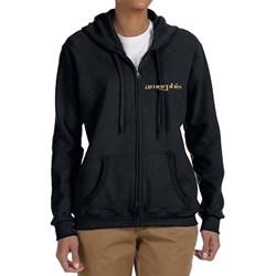 Amorphis - Womens Logo Rotonde Zip Hoodie