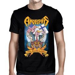 Amorphis - Mens Make Amorphis Great Again Black T-Shirt