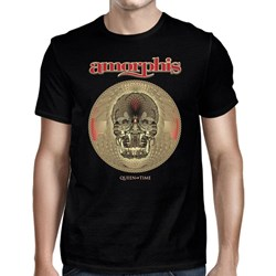 Amorphis - Mens Queen Of Time - Tour 2019 Tshirt