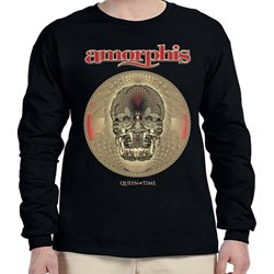 Amorphis - Mens Queen Of Time - Tour 2019 Longsleeve T-shirt