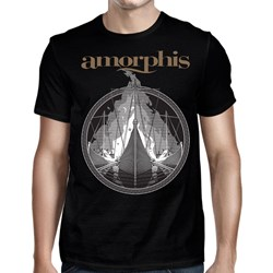 Amorphis - Mens Pyres Ship T-Shirt