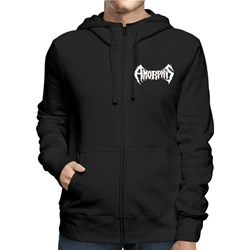 Amorphis - Mens Logo Bear Zip Hoodie