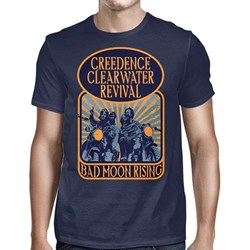 Creedence Clearwater Revival - Mens Bad Moon Rising T-Shirt