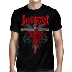 Incantation - Mens Crucifixion 2019 Us Tour T-Shirt