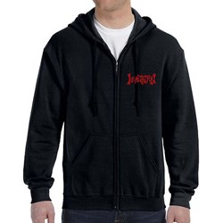 Incantation - Mens Triple Swords Zip Hoodie