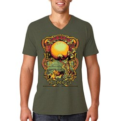 King'S X - Mens Out Of The Planet V-Neck T-Shirt