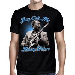 Muddy Waters - Mens They Call Me Muddy Waters T-Shirt