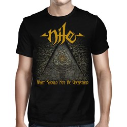 Nile - Mens What Should Not Be Gold Black T-Shirt