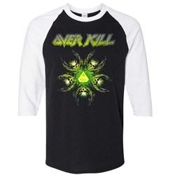 Overkill - Unisex-Adult Overkill 19 Raglan