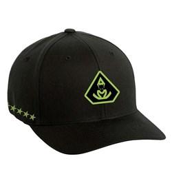 Overkill - Mens Tri-Bat Stars Hat - Flexfit