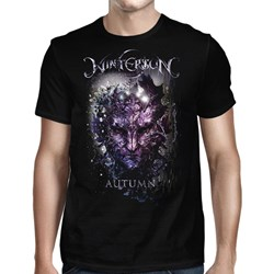 Wintersun - Mens Autumn I Am Death Black T-Shirt