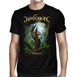 Wintersun - Mens Spring Born Again Black T-Shirt