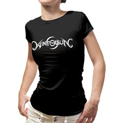 Wintersun - Womens Logo Daughters Of Winter Black T-Shirt