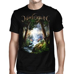 Wintersun - Mens Forest Seasons Tour 2018 Black T-Shirt