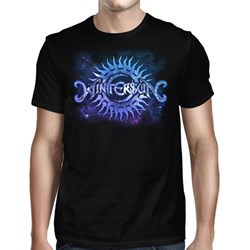 Wintersun - Mens Astral Double Logo Black T-Shirt