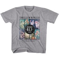 Muhammad Ali - Unisex-Child Collage T-Shirt