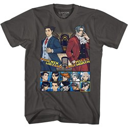 Ace Attorney - Mens Choose Your Fighter T-Shirt