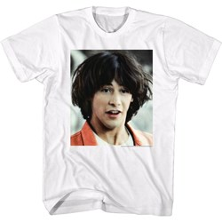 Bill And Ted - Mens Ted Face T-Shirt