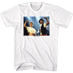 Bill And Ted - Mens Excellent Fists Up T-Shirt