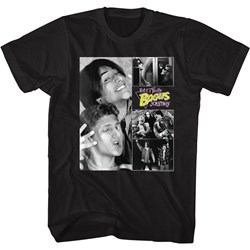 Bill And Ted - Mens Bnt Collage T-Shirt