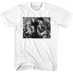 Bill And Ted - Mens Bill & Ted & Death T-Shirt