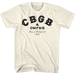 Cbgb - Mens Cbgb Black T-Shirt