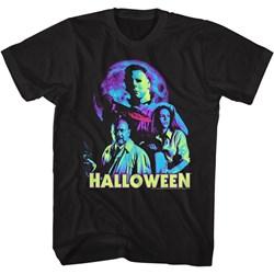 Halloween - Mens Neon Moon T-Shirt