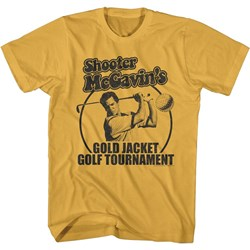 Happy Gilmore - Mens Gold Jacket Tourney T-Shirt