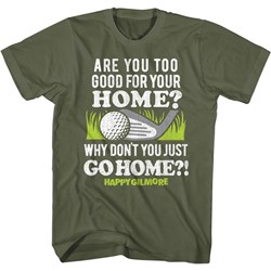 Happy Gilmore - Mens Go To Your Home T-Shirt