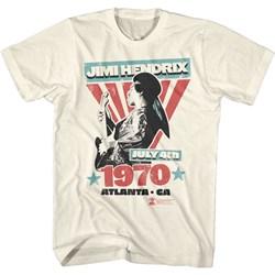Jimi Hendrix - Mens Atlanta T-Shirt