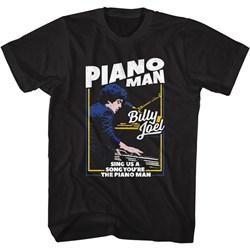 Billy Joel - Mens The Piano Man T-Shirt