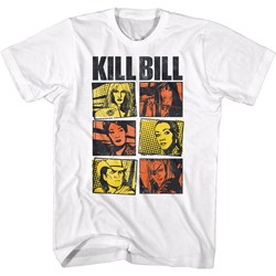 Kill Bill - Mens Panels Color T-Shirt