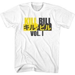 Kill Bill - Mens Kill Bill With Katana T-Shirt