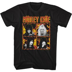Motley Crue - Mens Fire And Wire T-Shirt