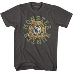 Monster Hunter - Mens Monhun Circle Color T-Shirt