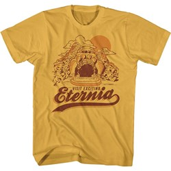 Masters Of The Universe - Mens Retro Eternia Vacation T-Shirt