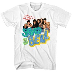 Saved By The Bell - Mens Tacky Collage T-Shirt