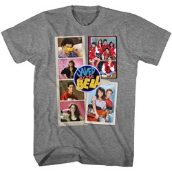 Saved By The Bell - Mens Scrapbook T-Shirt