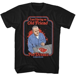 Silence Of The Lambs - Mens Friend For Dinner T-Shirt