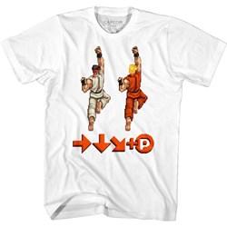 Street Fighter - Mens Sprite Punch T-Shirt